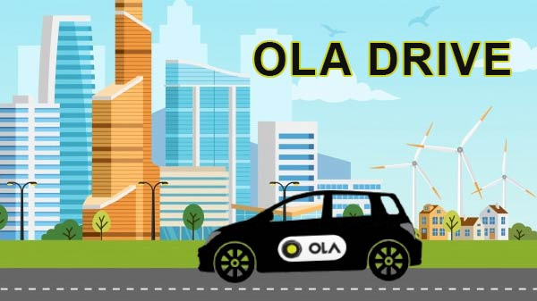 Ola Drive Self-Drive Car-Sharing Service Launched In India
