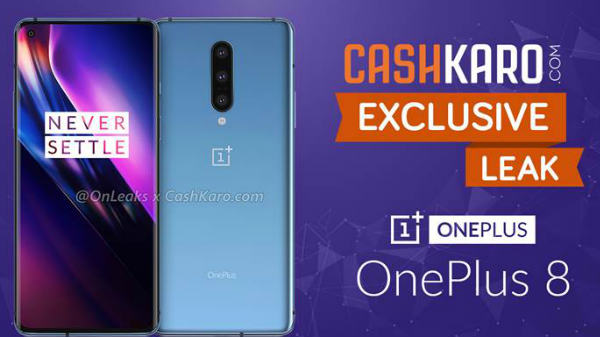 OnePlus 8 Leaked In Full Glory With Punch-Hole Display And More