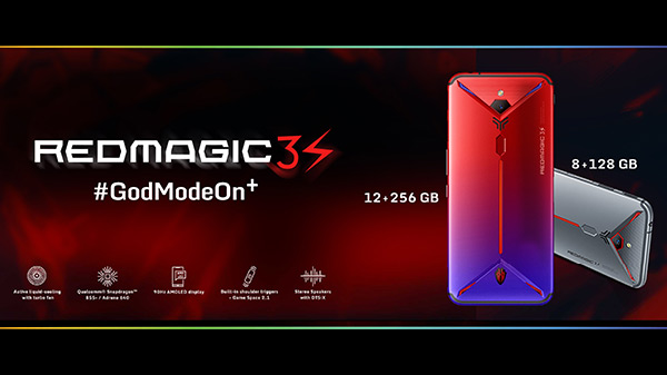 Nubia Red Magic 3S All Set To Launch In India Starting At Rs. 35,999