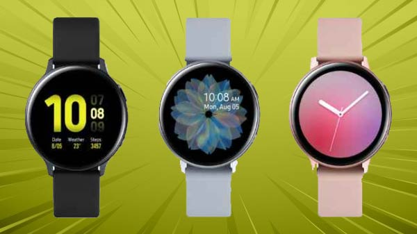 Samsung Galaxy Watch Active 2, Watch LTE Launched: Price, Specifications, Availability