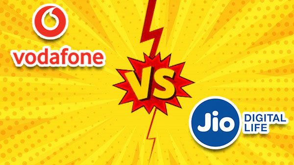 Vodafone Rs. 229 Vs Reliance Jio All-In-One Pack Rs. 222