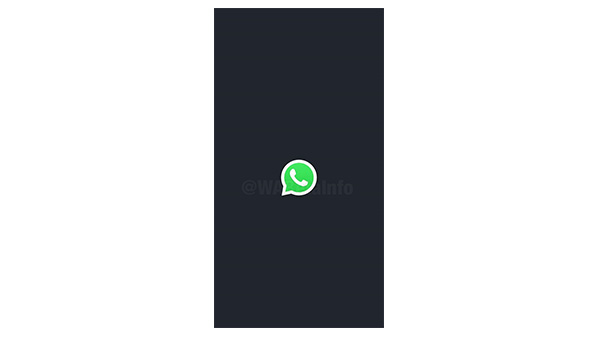 WhatsApp Testing Splash Screen Feature