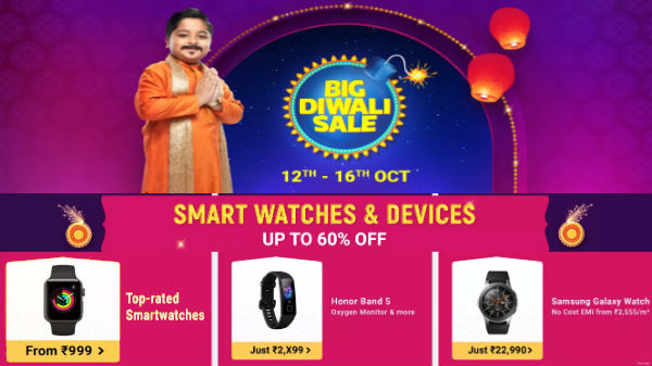 Flipkart Big Diwali Sale: Right Time To Buy Smart Bands And Smart Watches