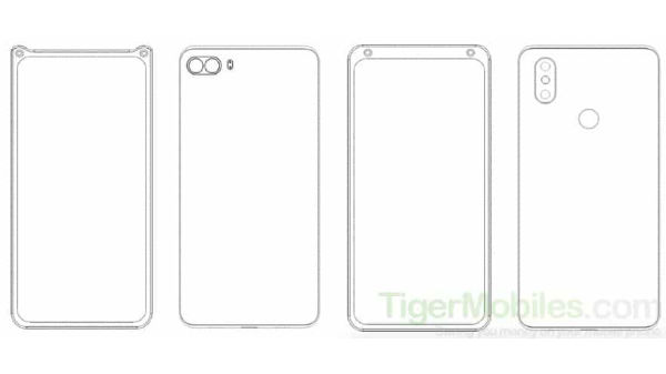 Xiaomi Patent Shows Dual Selfie Cameras At The Corners