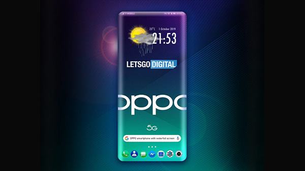 Oppo Patents Four-Sided Curved Edge Smartphone Design
