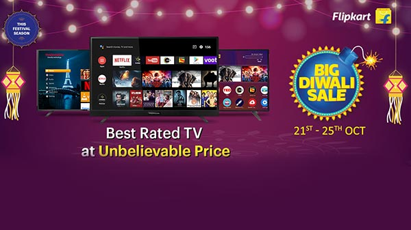 Thomson TVs Get Massive Discounts During Flipkart Diwali Sale
