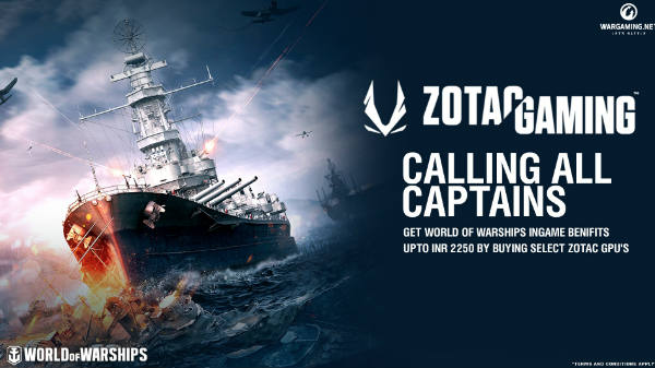 ZOTAC Gaming Announces India-only Bundle For World of Warships Game