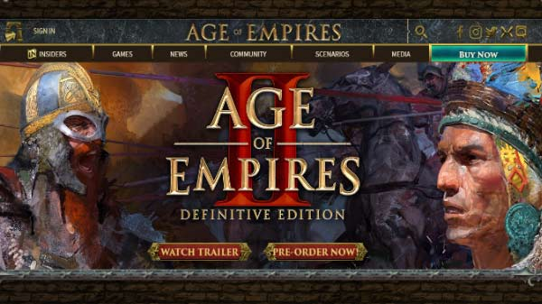 Age of Empires 2: Definitive Edition November 14 Launch Confirmed
