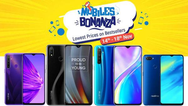 Flipkart Mobile Bonanza Offers On Realme Smartphones: Discounts You Can Get