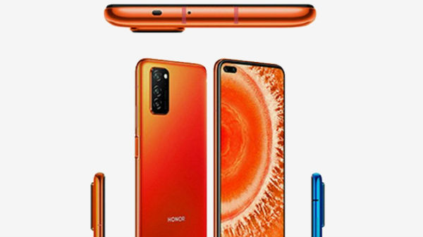 Honor V30 Leaked Renders Confirms Dual Punch-Hole Selfie Camera