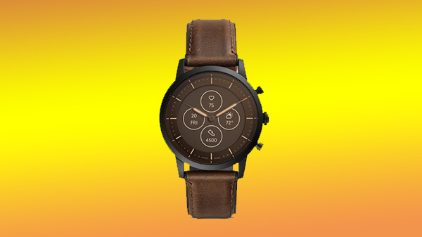 New Fossil Hybrid Smartwatches Feature Monochromatic Display