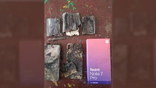 Redmi Note 7 Pro Catches Fire - Is Xiaomi Compromising With Quality?
