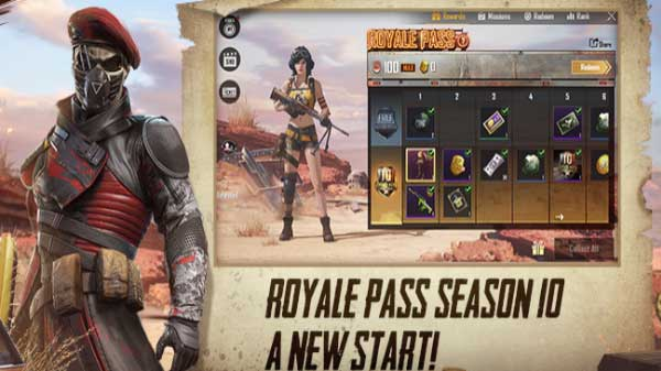 PUBG Mobile Royale Pass 10 With New Weapons And Character Goes Live