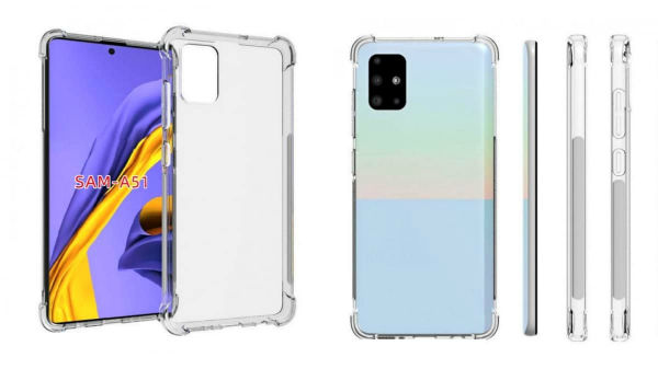 Samsung Galaxy A51 Case Renders Leak: Quad Rear Cameras And More