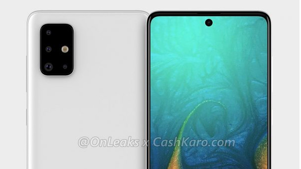 Samsung Galaxy A71 Renders Surface Online With A Quad-Camera Setup