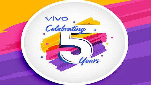 Vivo Celebrates Five Years In India With Attractive Rewards