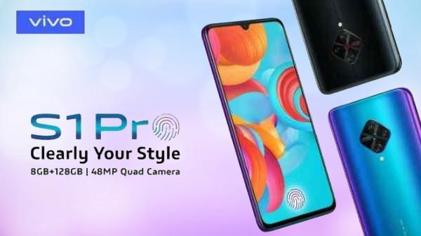 Vivo S1 Pro With 48MP Quad-Cameras Tipped For December 2019 Launch