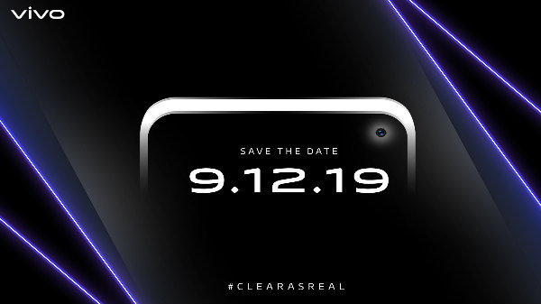 Vivo V17 With Punch-Hole Display Slated For December 9 Launch In India