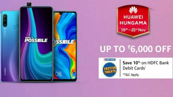 Amazon Huawei Hungama Sale: Exciting Offers On Mid-Range Huawei Smartphones