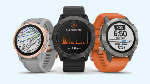Garmin Fenix 6, Fenix 6S, Fenix 6X Pro Solar Rugged Smartphones Launched In India