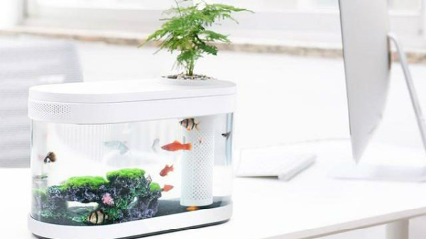 Xiaomi Fish Tank Goes Official: Can Be Powered By Power Bank