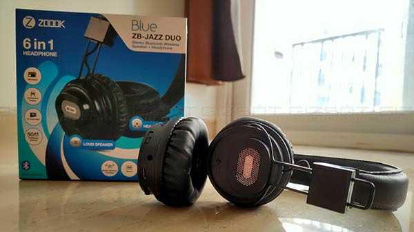 ZOOOK ZB-Jazz Duo Wireless Headphones Review: Headphones That Turns Into A Speaker