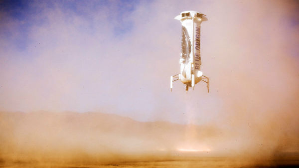 Jeff Bezos' Blue Origin Test Flight Successful