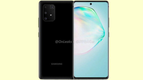 Samsung Galaxy A91 360-Video, Renders Leaked Online