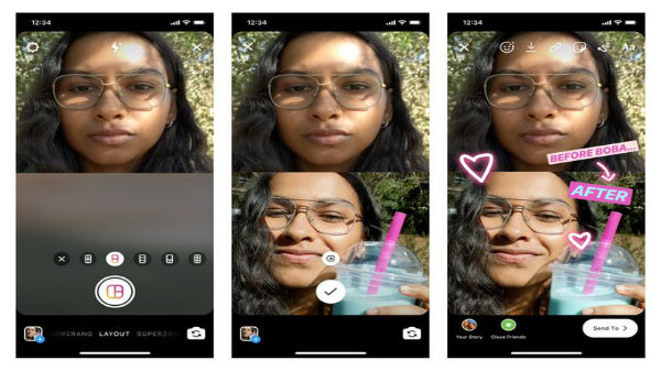 Instagram Layout Feature Allows Users To Upload Multiple Photos