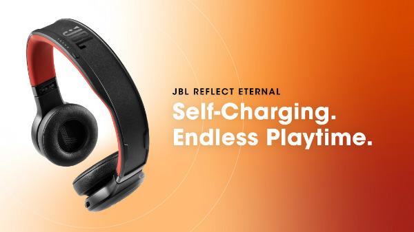 JBL Reflect Eternal Headphones Uses Solar Panels