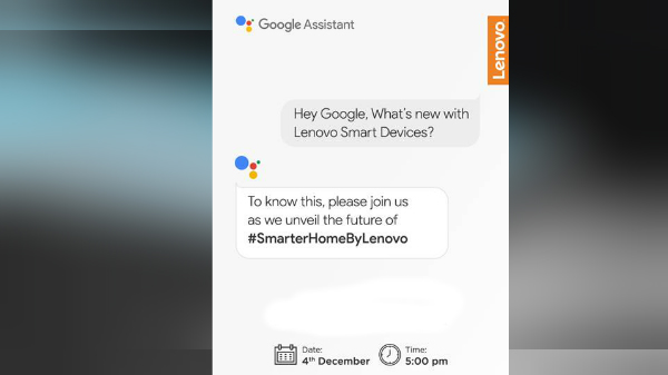 Lenovo To Launch Smart Devices On December 4 In India: What To Expect