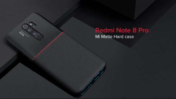 Mi Matte Hard Case For Redmi Note 8 Pro Launched For Rs. 499
