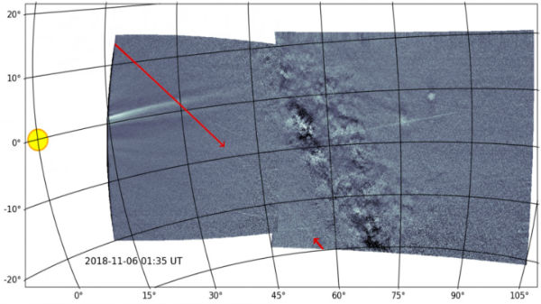 NASA Parker Probe Captures Phaethon's Dust Trail In Detail