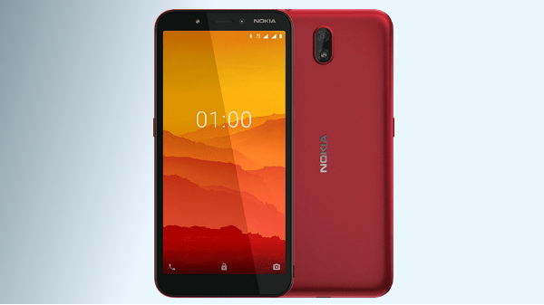 Nokia C1, Android Go Smartphone Announced, But Lacks 4G Support