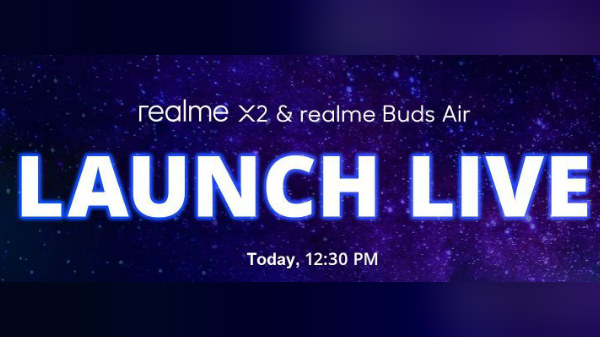 Realme X2, Realme Buds Air Launch Highlights: Price Starts At Rs. 3999