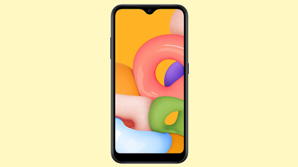 Samsung Galaxy A01 With Infinity-V Display Makes A Silent Debut