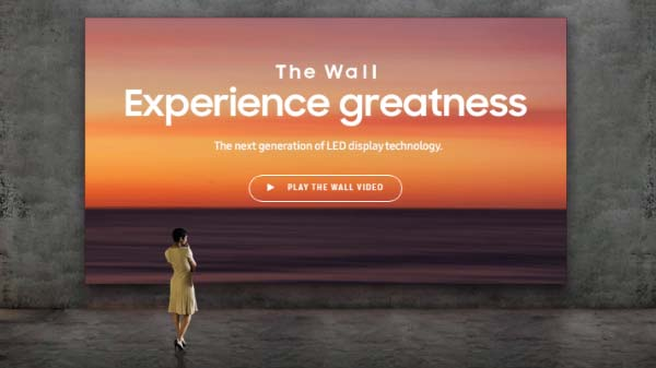The Wall From Samsung Costs Crores Together