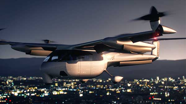 Uber Air Taxi Service Gets Big Boost With New Partner