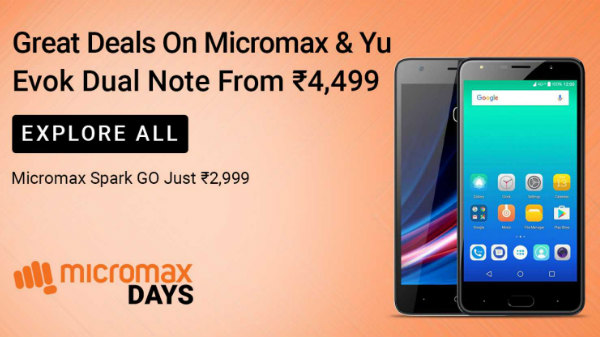 Flipkart Micromax Days Offers: Right Time To Get One With Discounts