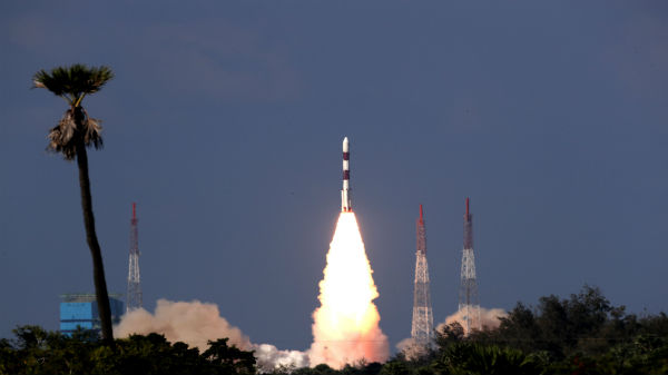 ISRO Ristat Surveillance Satellite Unfurls Its Antenna