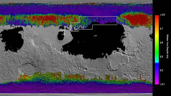 NASA Finds Water Ice In Shallow Deposits On Mars