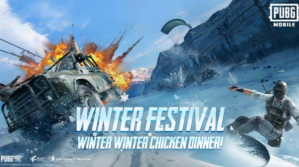 PUBG Mobile New Update Brings Winter Festival, RageGear Mode