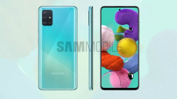 Samsung Galaxy A51 Press Renders Confirm L-Shaped Camera, Punch-Hole Display