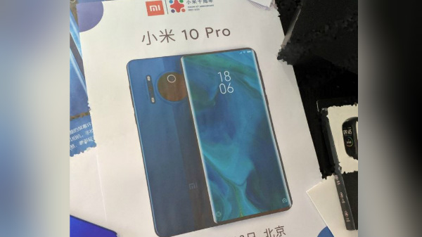 Alleged Xiaomi Mi 10 Pro Leaked With Huawei Mate 40 Style Camera Unit