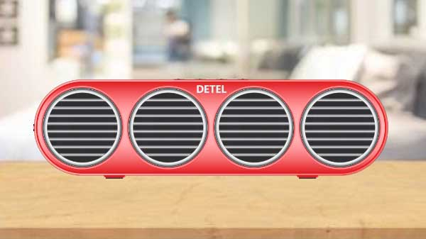 Detel Launches Amaze Wireless Bluetooth Speaker