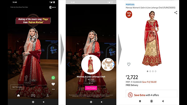 Glance Lockscreen: Brilliant Content Platform With Seamless Shopping