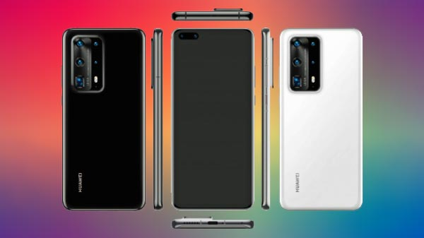 Huawei P40 Pro Leaked Render Shows Penta Camera Setup With 10X Zoom
