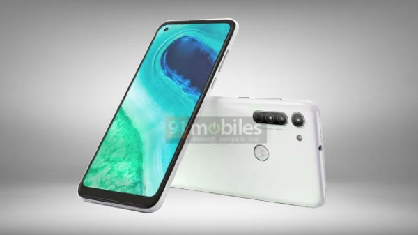 Motorola G8 Renders With Punch-Hole Display Surface Online