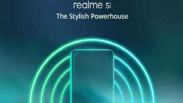 Realme 5i With Snapdragon 665 SoC India Launch Set For Today