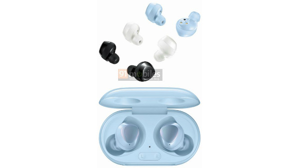 Samsung Galaxy Buds+ Render Hints At Sky Blue Color Option